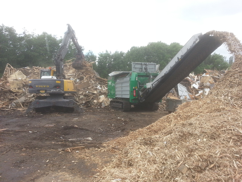Komptech shredder Crambo Direct 6200